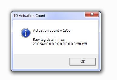 1D Count