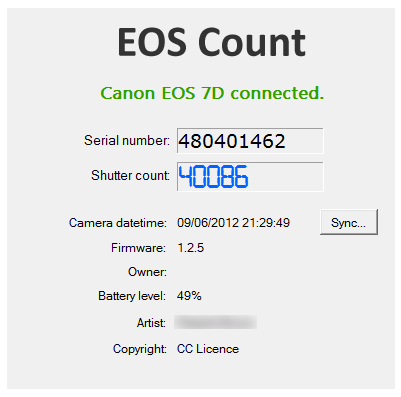 EOS Count